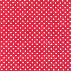 tiny dot polka dot red cotton voile